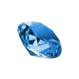 Sininen Kristalli 4cm